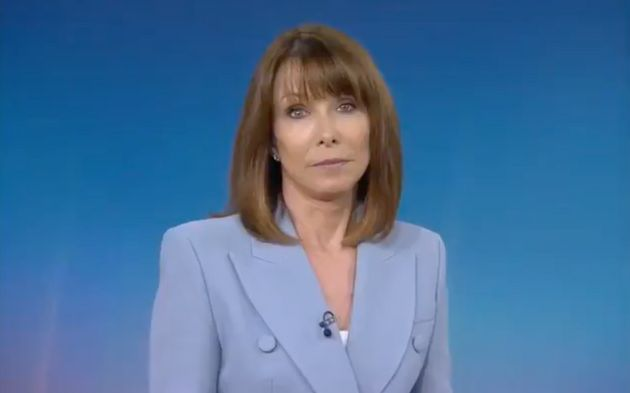 Kay Burley during Monday's edition of her Sky News