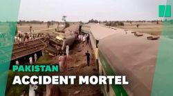 Au Pakistan, une collision entre deux trains fait 63 morts, selon un nouveau