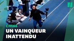En Chine, ce 100m est remporté par… le