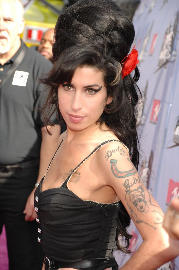 Amy Winehouse at the MTV Movie Awards in