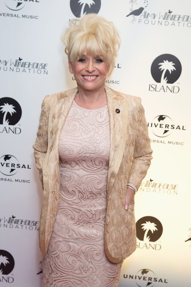 Dame Barbara Windsor at an event for the Amy Winehouse Foundation in