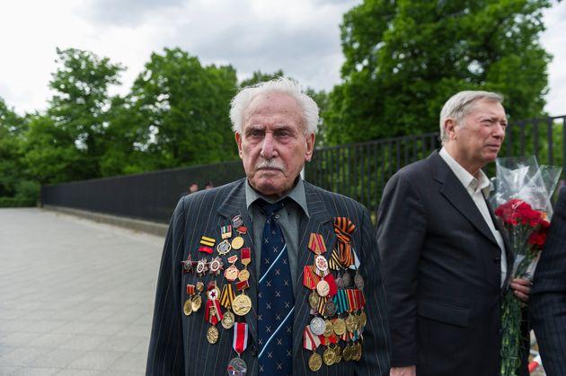 David Dushman, en 2015, durante un homenaje a las víctimas del nazismo en
