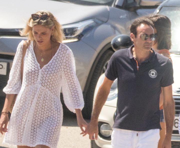 Ana Soria y Enrique Ponce en Almería el verano pasado.