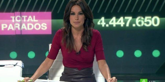 La presentadora Cristina