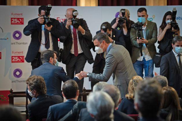Pedro Sánchez y Pere