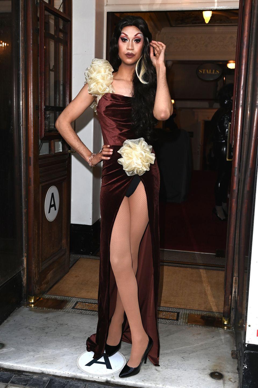 Tia Kofi at the premiere of Drag Queens Of