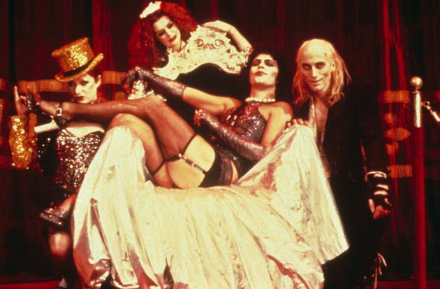 Little Nell, Patricia Quinn, Tim Curry and Richard O'Brien in The Rocky Horror Picture