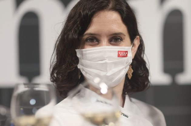 Isabel Díaz Ayuso, el pasado 31 de mayo, en la feria gastronómica Madrid