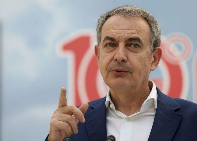 Zapatero, en un