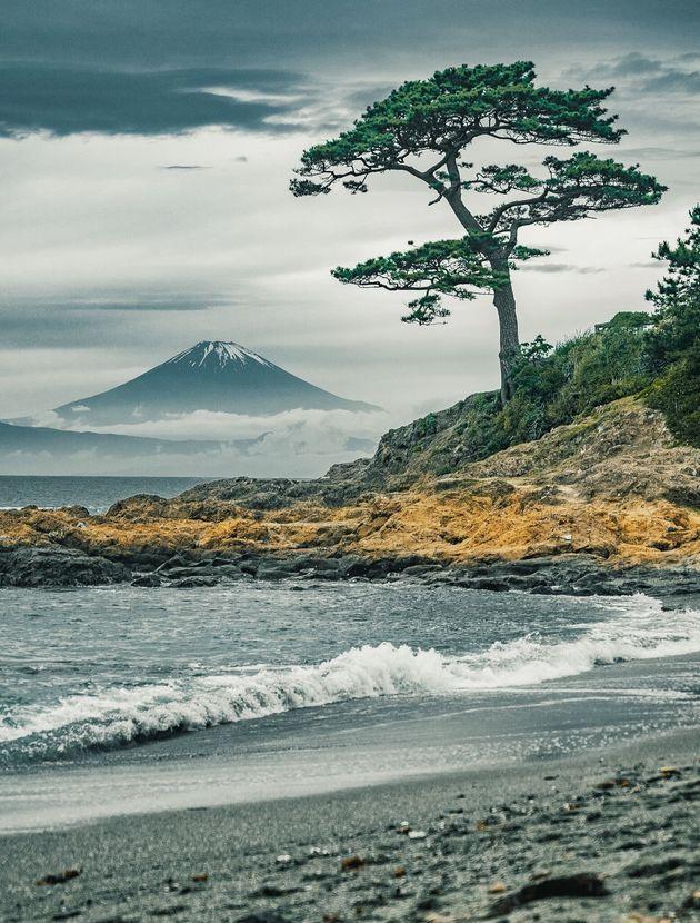 Logaさんが三浦半島で撮影した富士山の写真