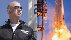 세계 최고의 부자, 아마존 CEO 제프 베조스가 동생과 함께 우주여행을