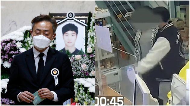 故손정민 씨와 친구 A씨가 사건 당일 편의점에서 포옹하고 장난치는 모습이 담긴 CCTV가 공개됐다.친구 측은 이 영상을 공개한 유튜버를 정보통신망법위반 혐의 등으로