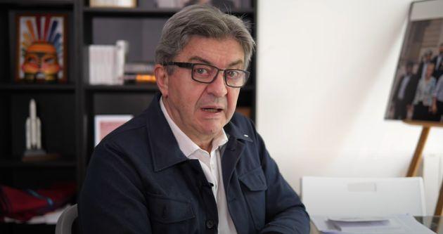 Jean-Luc Mélenchon dans une vidéo YouTube publiée le 3 juin 2021 sur