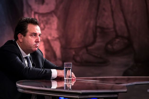 L'avvocato Piero Amara durante la trasmissione di La7 Piazzapulita condotta da Corrado Formigli, Roma,...