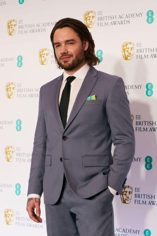 Liam Payne at this year's Bafta film
