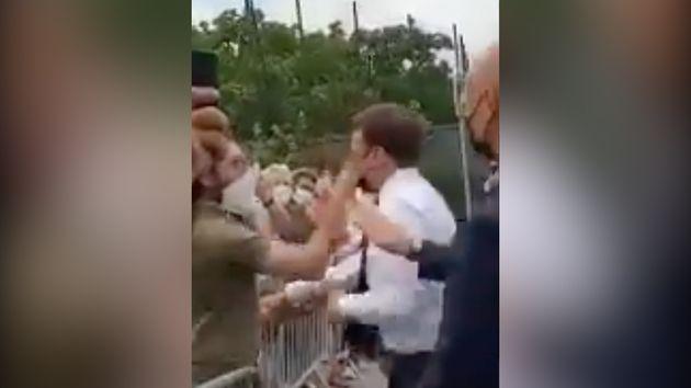 Ce mardi 8 juin, Emmanuel Macron a été giflé par un homme au cours d'une visite dans la Drôme, à