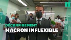 Malgré l'amélioration des données sanitaires, Macron ne veut pas avancer la 3e étape du