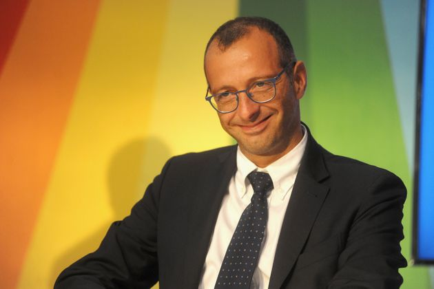 IMOLA, ITALY - SEPTEMBER 14: Matteo Ricci Mayor of Pesaro attends a public debate at national Festa dell'Unita...