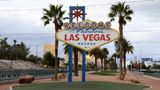 LAS VEGAS, NEVADA - MARCH 22:  The area in front of the Welcome to Fabulous Las Vegas sign, where tourists often line up to take photos, is shown empty as most businesses in the area are closed as a result of the statewide shutdown due to the continuing spread of the coronavirus across the United States on March 22, 2020 in Las Vegas, Nevada. On Friday, Nevada Gov. Steve Sisolak ordered a mandatory shutdown of most nonessential businesses in the state until April 16 to help combat the spread of the virus. The World Health Organization declared the coronavirus (COVID-19) a global pandemic on March 11th.  (Photo by Ethan Miller/Getty Images)