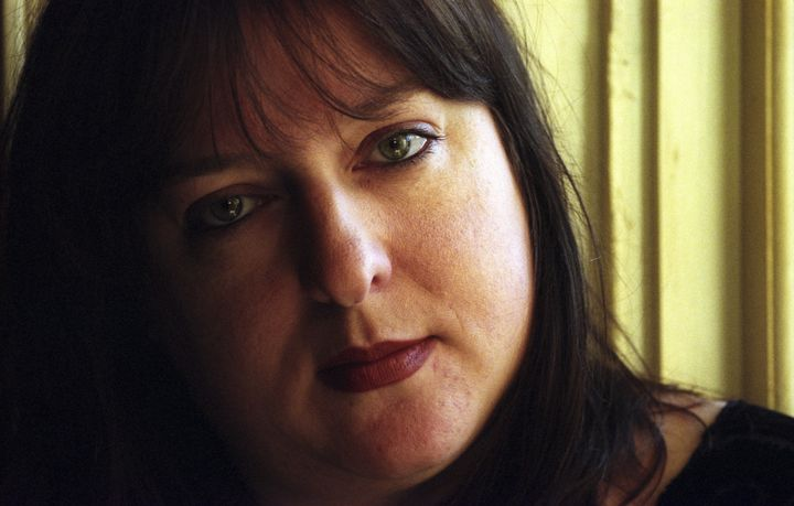 Julie Burchill, pictured in 1999, has been fired for making a racist joke about the name of the Duke and Duchess of Sussex's