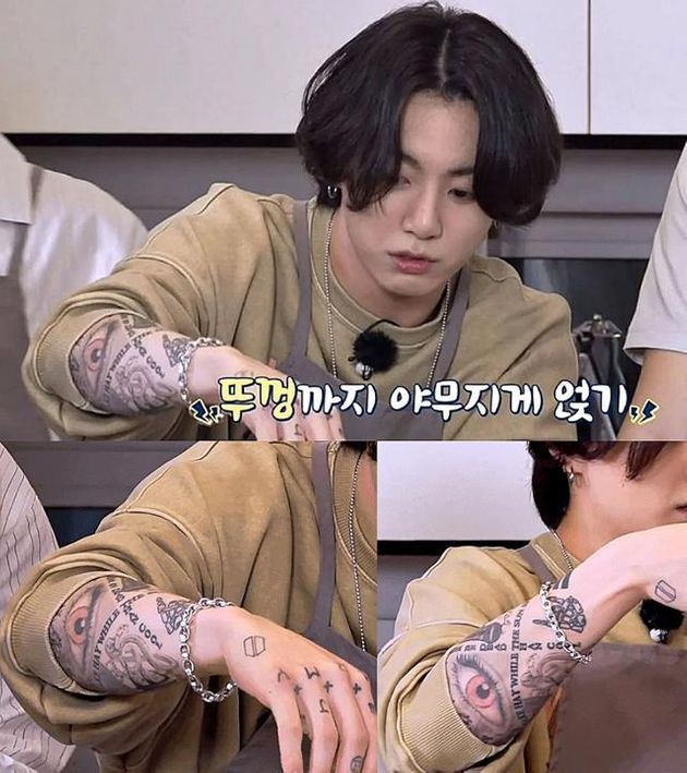 BTS Jungkook has tattoos on the backs of his hands and arms, but he has to hide his tattoos when appearing on airwaves.  Rep. Ho-Jeong Ryu
