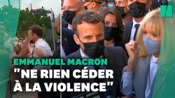 La réaction de Macron après sa