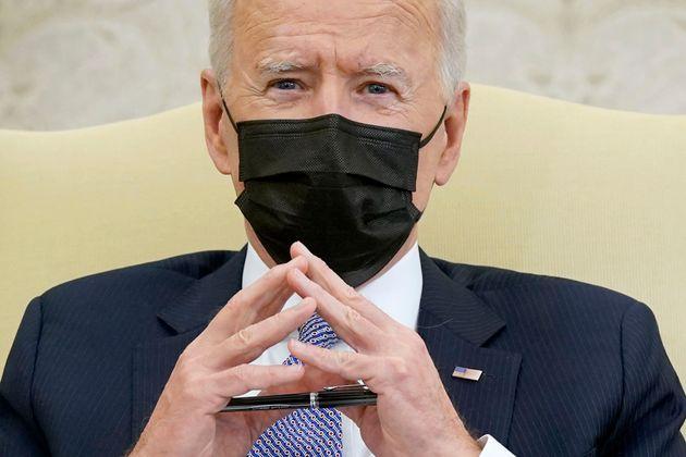 Joe Biden, en un encuentro sobre empleo en el Despacho Oval, el pasado