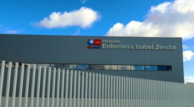El hospital madrileño Isabel Zendal, en una foto de