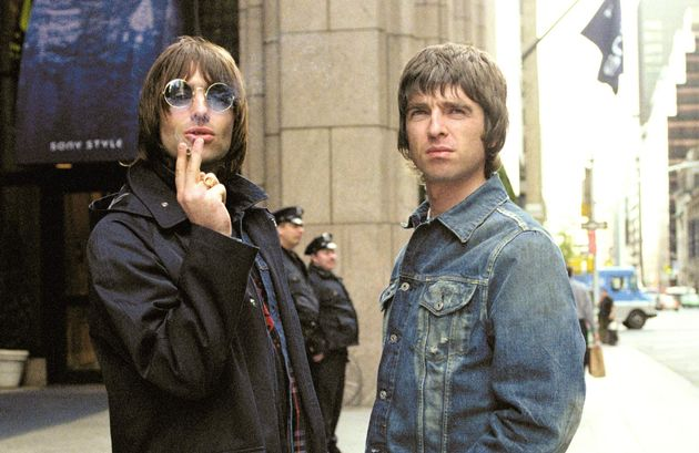 Liam and Noel pictured in 2000