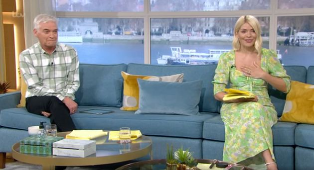 Phillip Schofield and Holly Willoughby on This
