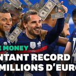Combien vont gagner les Bleus pendant cet Euro? (Indice: ils ne jouent pas pour