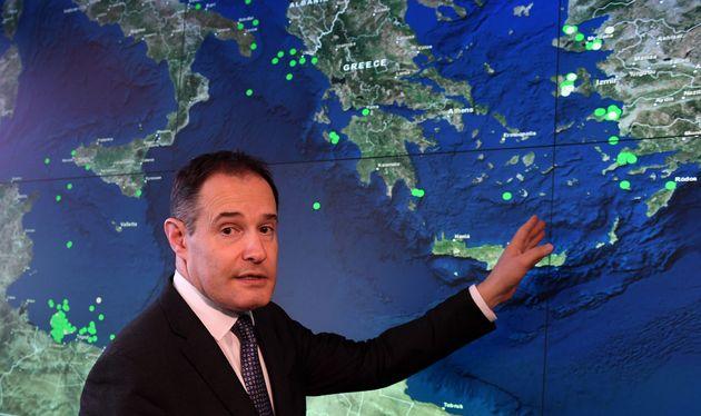 OFabrice Leggeri, επικεφαλής της Frontex.