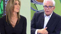 El agrio desencuentro de Paz Padilla y el doctor Sánchez Martos en 'Sálvame' por la