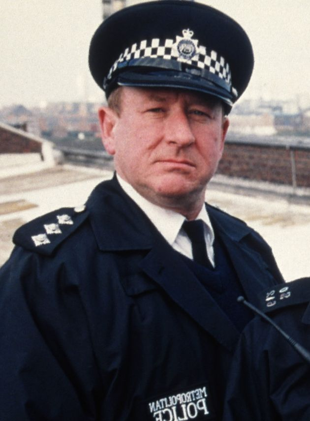 Ben Roberts as Chief Inspector Conway, pictured in