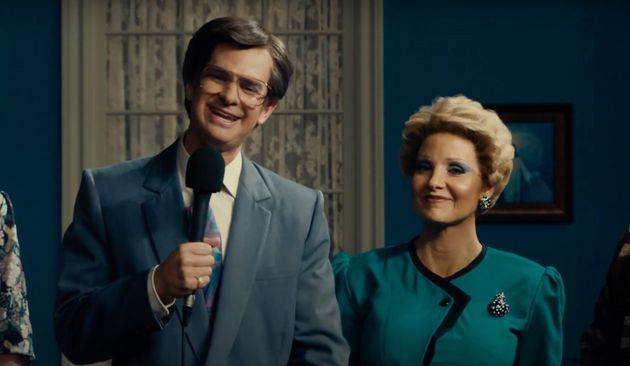 Andrew Garfield and Jessica Chastain are unrecognisable in the newly-released