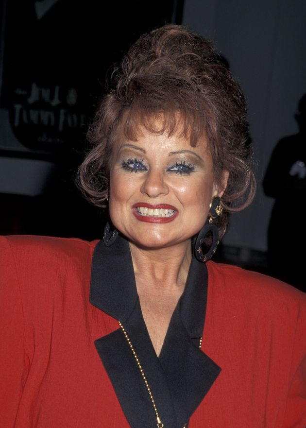 The real Tammy Faye Bakker Messner pictured in
