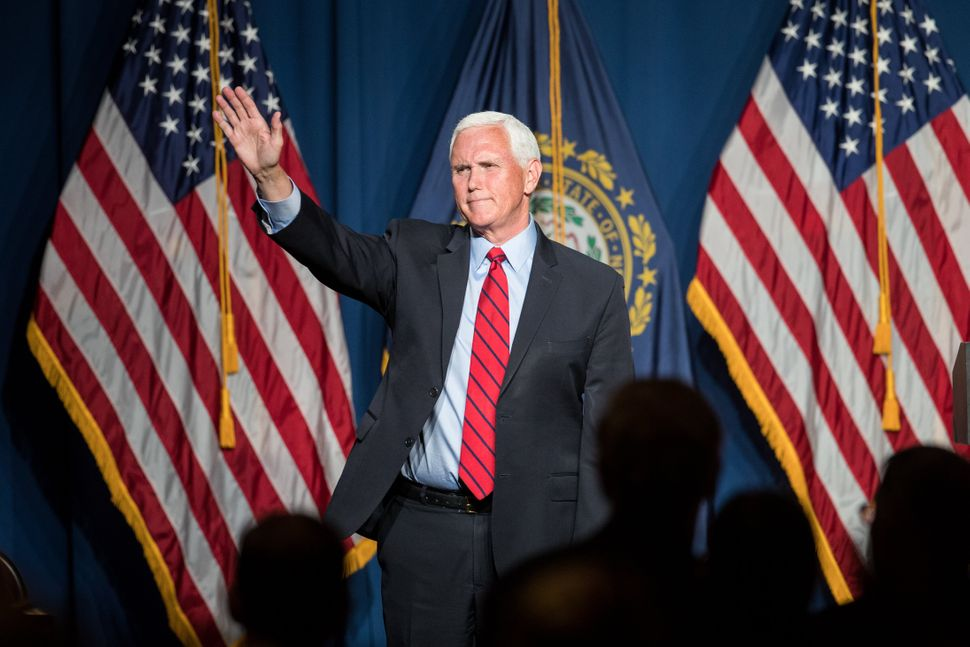 It wasn't until last week in New Hampshire that former Vice President Mike Pence finally acknowledged that he and forme