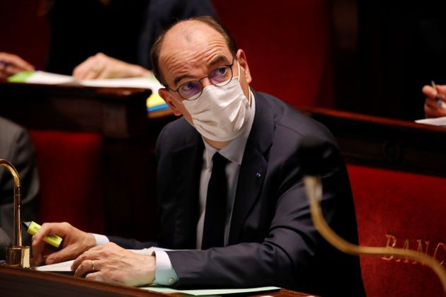 Jean Castex à l'Assemblée nationale le 4 mai