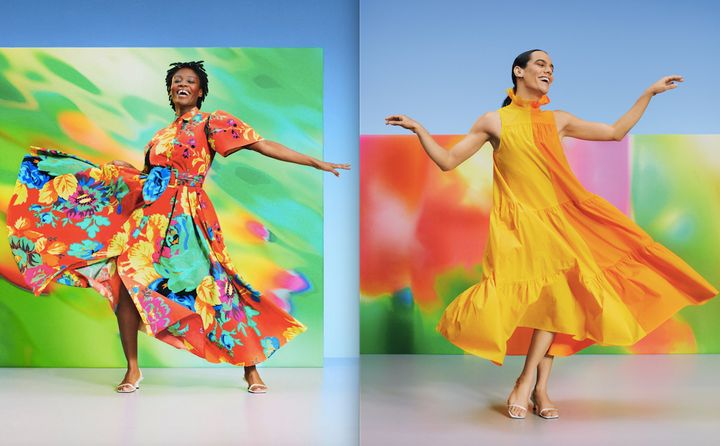 Christopher John Rogers' Target line is all about color and volume.