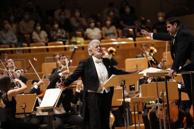 Plácido Domingo, en el Auditorio