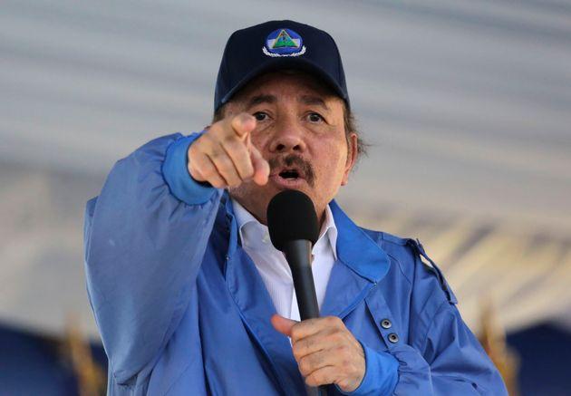 El presidente de Nicaragua, Daniel