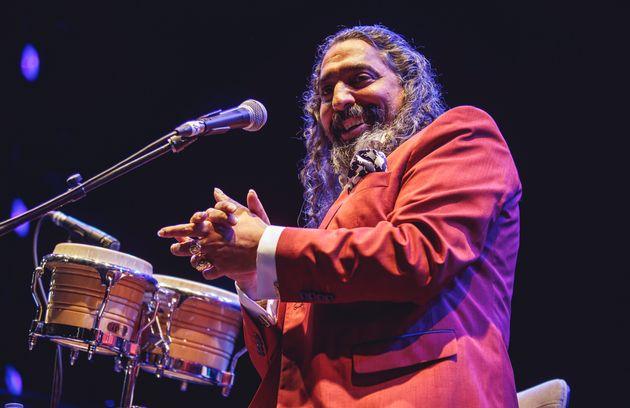 El cantaor Diego 'El Cigala' durante el Festival Abre Madrid Festival 2020 en
