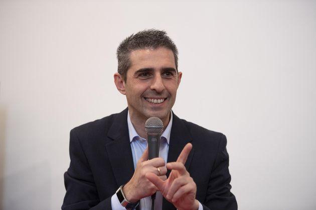 L'intervento di Federico Pizzarotti, Presidente di 'Italia in comune' e sindaco di Parma nel corso della...
