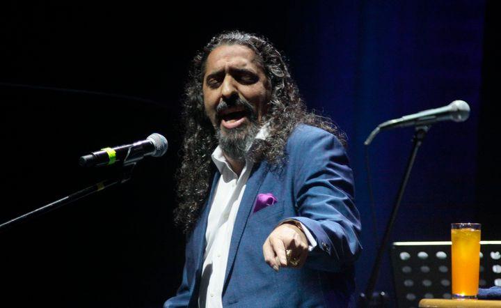 Diego El Cigala en el Teatro Metropolitano de México en 2017.