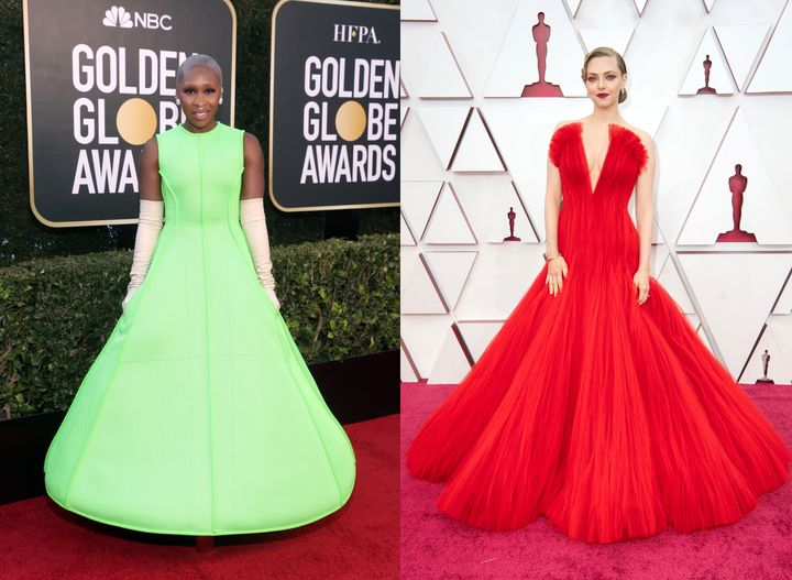 Big, bold dresses aren't just for the red carpet.