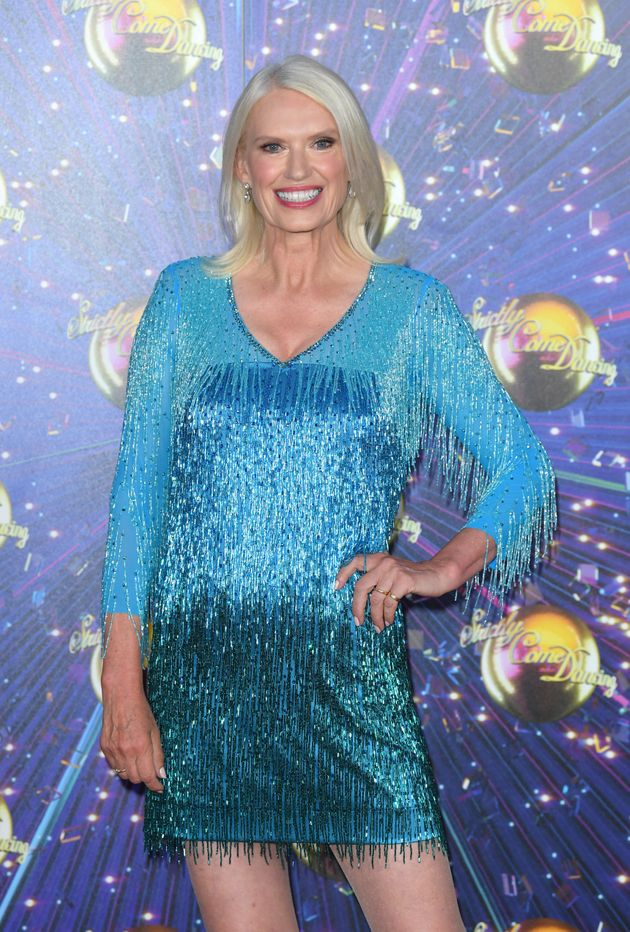 Anneka Rice took part in Strictly Come Dancing in