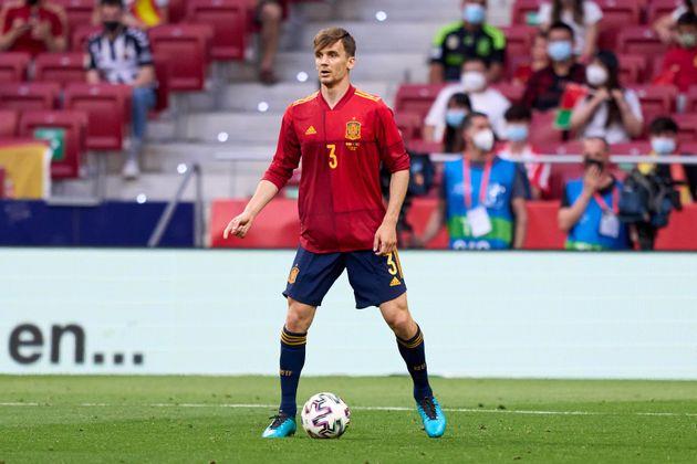 Diego Llorente, jugador de la selección española de