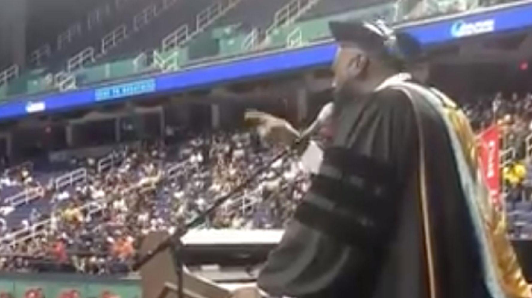 North Carolina Principal Stuns Graduates With A Capella Of 'I Will Always Love You'
