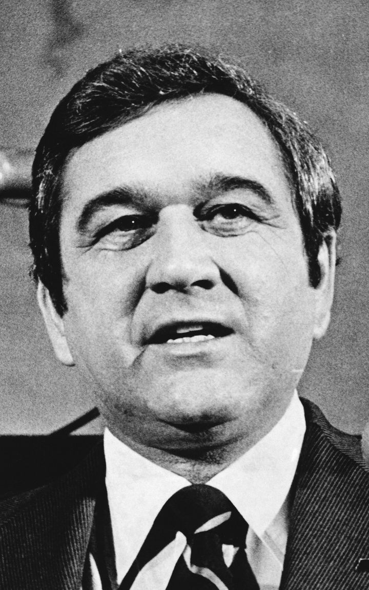 In this Jan. 11, 1979, file photo, Tennessee Gov. Ray Blanton appears before a joint session to give his final State of the S