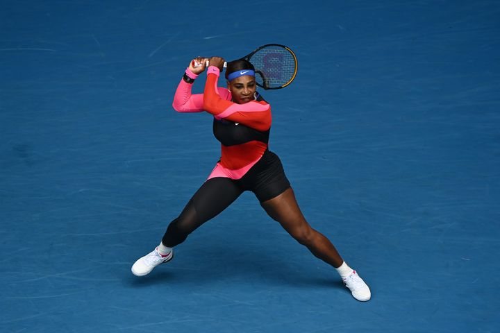 Serena Williams introduced the Flo-Jo-inspired catsuit in her first-round match against Laura Siegemund back in February.